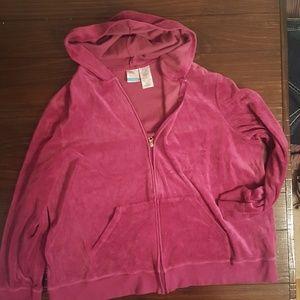 Just my size hoodie 3x 22w/24w pink